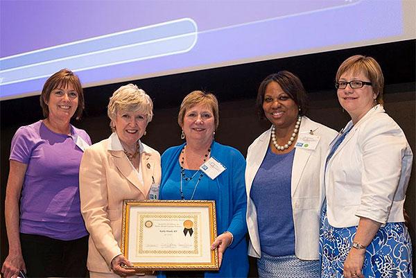 CDPH Nurse Receives the 2013 State of Georgia Public Health Nursing Practice Excellence Award