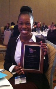 Dominique Hardman GPHA Award