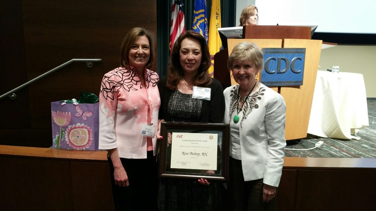 Cobb Douglas Public Health Nurse Receives 2016 State Of Georgia