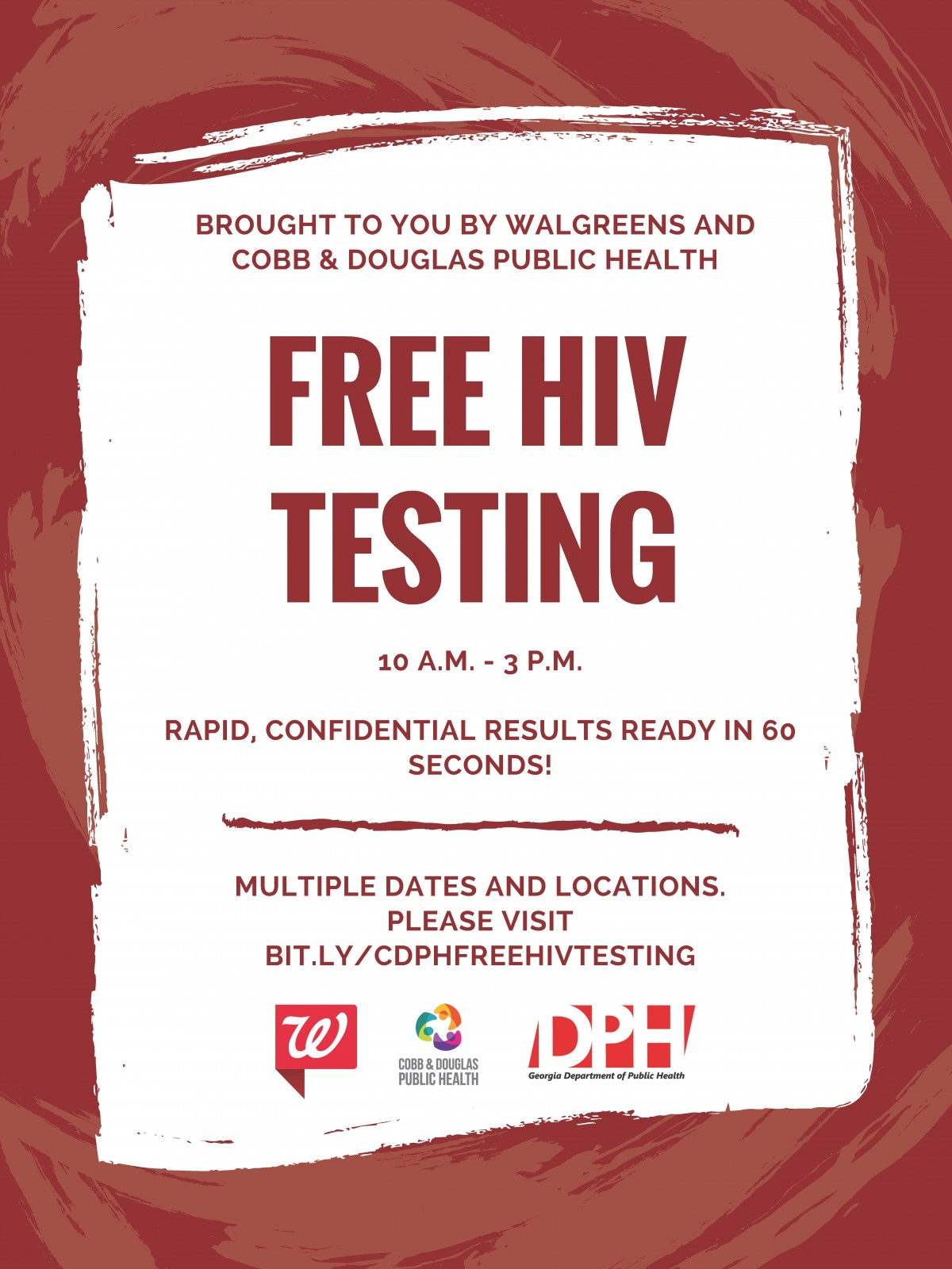 free rapid hiv testing near me