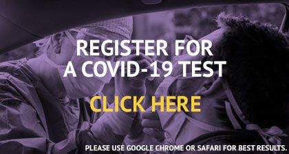 Register for a COVID test